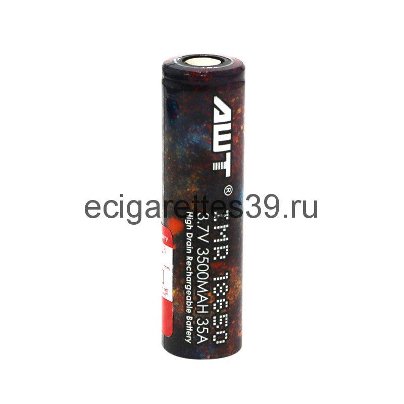 Аккумулятор 18650 AWT IMR 3500 mah 35A