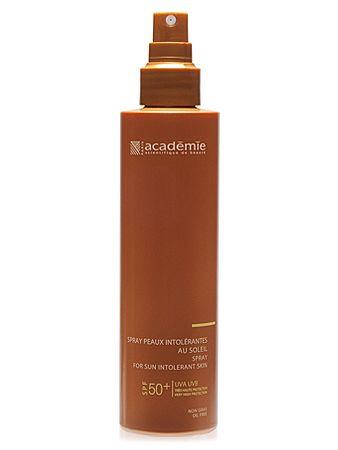 Academie Bronzecran SPF 50+ Спрей для чувствительной кожи