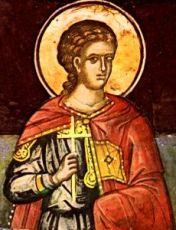 Мелитон Севастийский (рукописная икона)