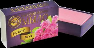 """КНК"" Натур.мыло ""Букет роз"" 75 гр (00780)"