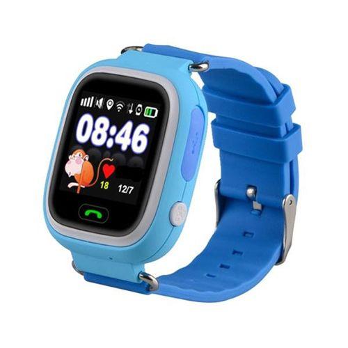 Умные детские часы с GPS Smart Baby Watch Q80 Голубые