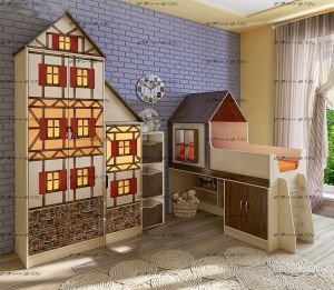 Детская комната Фанки Кидз Домик №2