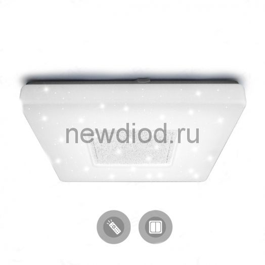 Управляемый светодиодный светильник QUADRON СИЯНИЕ 60W S-550-SHINY/CRISTAL Estares