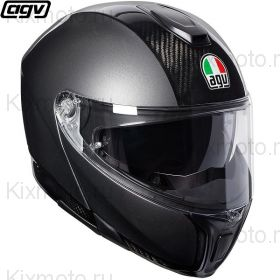 Шлем AGV Sportmodular Carbon, Темно-серый