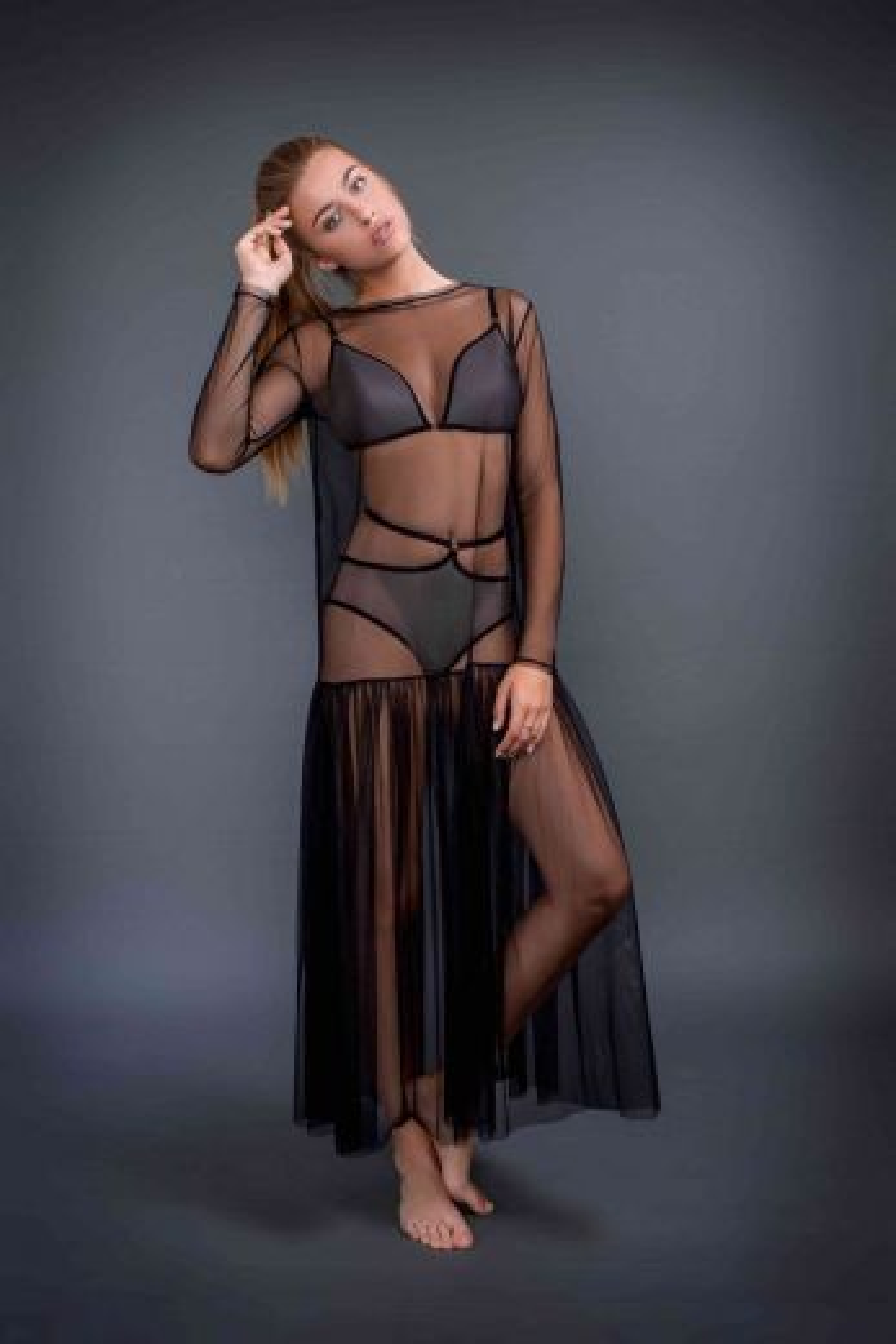 Арт. 58702 длинное  платье из коллекции Urban Story Gracija RIM