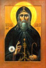 Далмат Исетский (рукописная икона)
