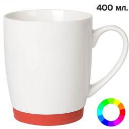 кружки Fun с цветным силиконовым донышком