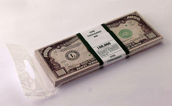 Забавная Пачка 1000 долларов