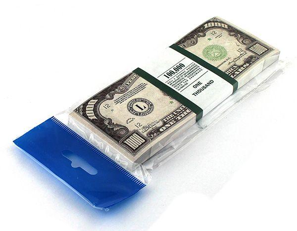 Блокнот Пачка 1000 долларов