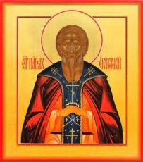 Павел Египетский (рукописная икона)
