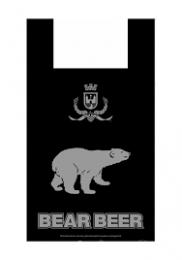 "Пакет ""Медведь"" 31*56 см 15 мкм 100 шт."