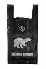 """Пакет """"Медведь"""" 31*56 см 14 мкм 100 шт. (тонкие)"""