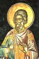 Пигасий Персидский (рукописная икона)