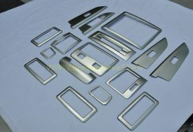 Хромированные накладки в салон для Toyota Land Cruiser 200 2015 -