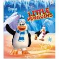 """Тетрадь """"Маленькие пингвины"""" 24 л., линейка."""