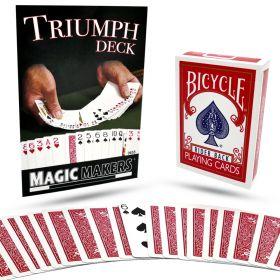 Triumph Deck (Bicycle) (цвет: синий)
