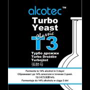 Спиртовые Турбо Дрожжи Alcotec Turbo Yeast T3 Classic