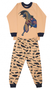 Хлопковая пижама для мальчика Бэтмен