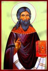Рафаил (рукописная икона)