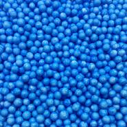 Шарики пенопласт, голубой, крупные, D 5-8 мм, 10 гр