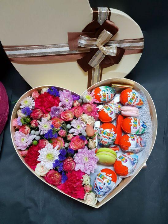 Коробочка Киндер - Сердце