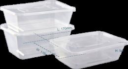 Контейнеры для микроволновки (50 шт.)  750мл, 1000мл