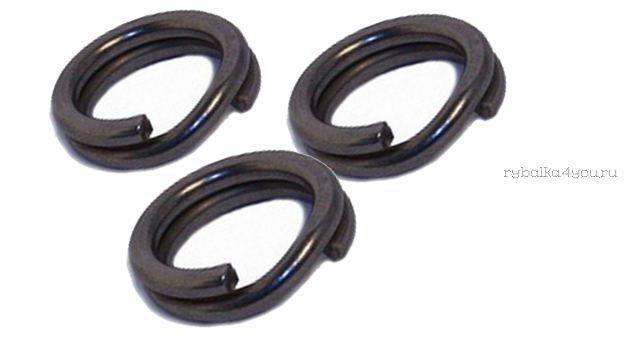 Кольцо заводное Fish Season Mat Black Slim Split Ring(упаковка) Артикул 6011