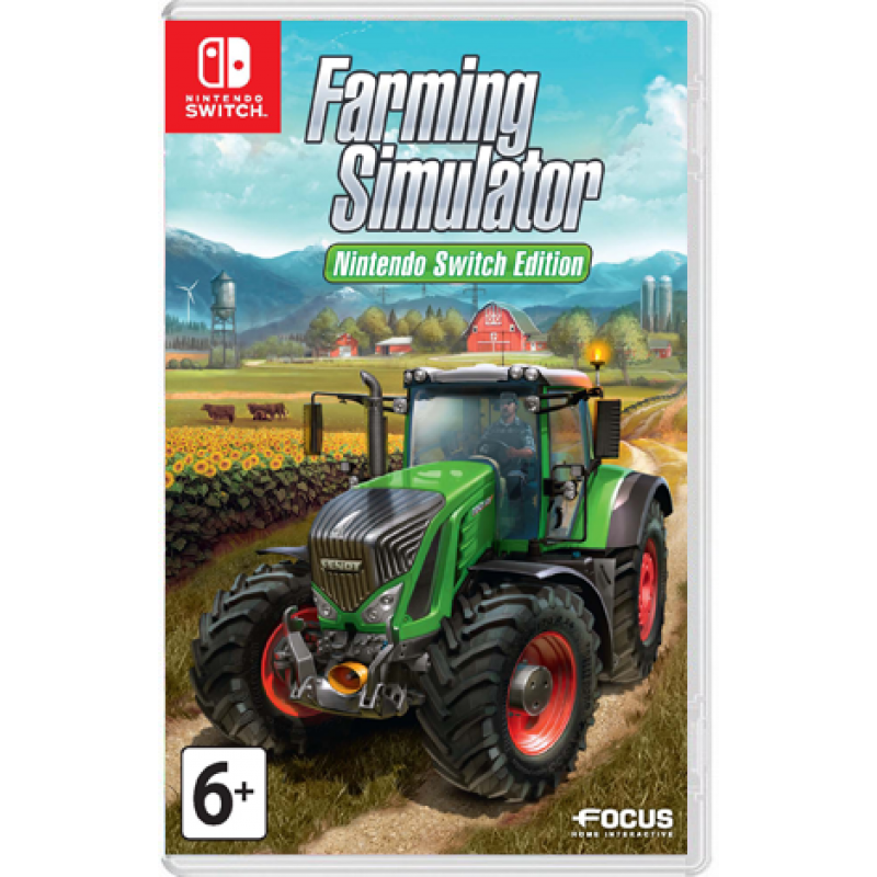 Игра Farming Simulator (Nintendo Switch, русская версия)
