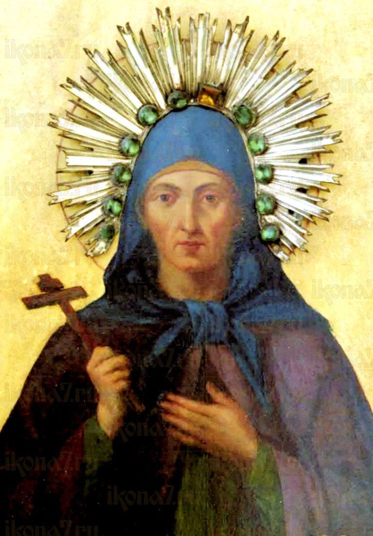 Икона Еввула Никомидийская (копия старинной)