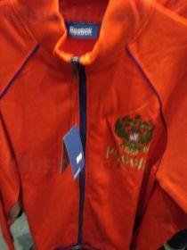 Ветровка на молнии REEBOK Track Jacket RUS Rd (SR)