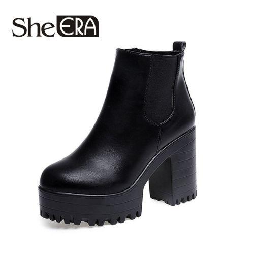 Сапоги и ботинки жен
