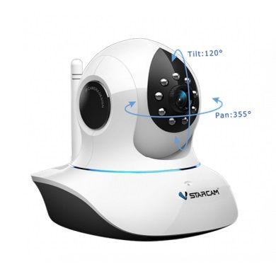 Камера видеонаблюдения Поворотная IP видеокамера VStarcam C7838WIP MINI