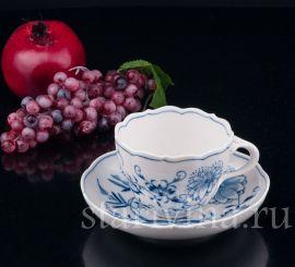 Чайная пара, Луковичный узор, Meissen, Германия., артикул 03254