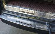 Накладка на задний бампер (Тип 7) для Toyota Land Cruiser Prado 150