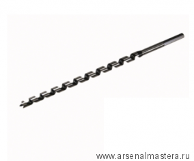Экстрадлинное сверло шнековое для сверления сквозных и глухих отверстий в мягкой и твердой древесине Star-M N400L D10х400/300мм М00013086