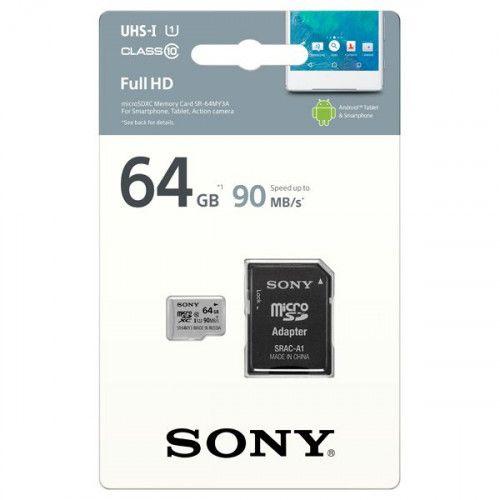Карта памяти SDHC Micro Sony SR-64MY3A/ST