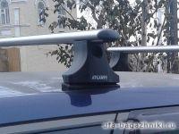 Багажник на крышу Nissan Primera P12 wagon 2002-07, Атлант, аэродинамические дуги