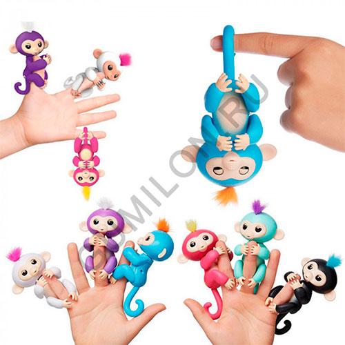 Светящаяся ручная обезьяна Finger Monkey