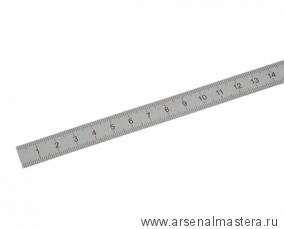 Линейка стальная 1000 х 38 х 2 мм шкала 1 мм Kinex 1024