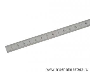 Линейка стальная шкала 1 мм 300 х 25 х 1 мм класс точности 1 Kinex 1022