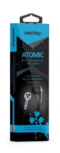 Наушники вакуумные SmartBuy® ATOMIC, синие