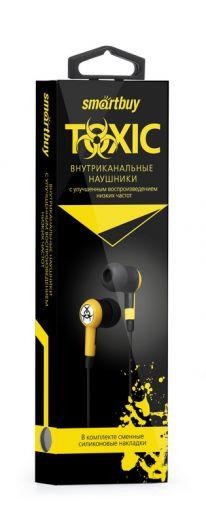 Наушники вакуумные SmartBuy® TOXIC желтые