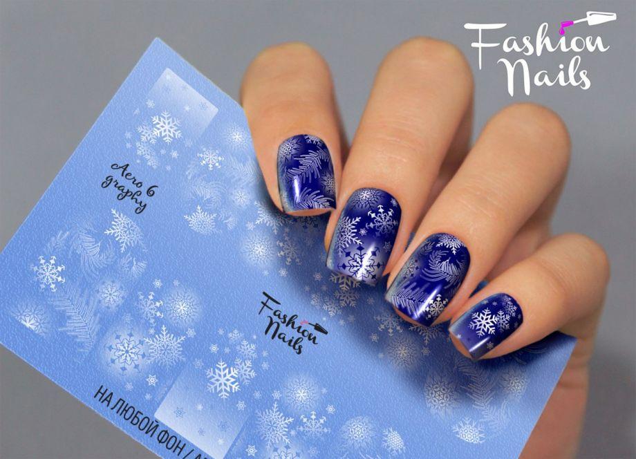 Слайдер дизайн Fashion Nails Aerography #6