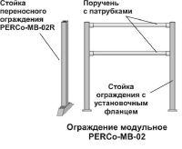 Стойка ограждения PERCo-MB-02VR