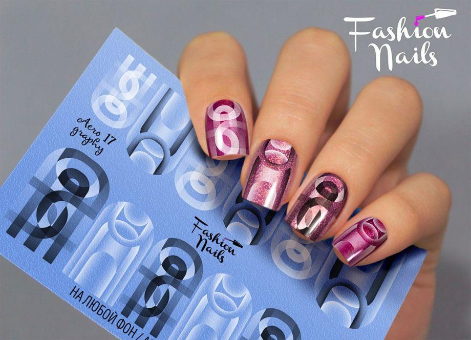 Слайдер дизайн Fashion Nails Aerography #17