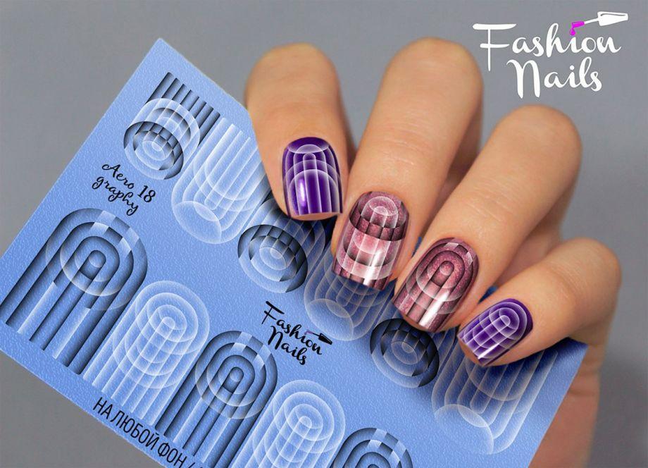 Слайдер дизайн Fashion Nails Aerography #18