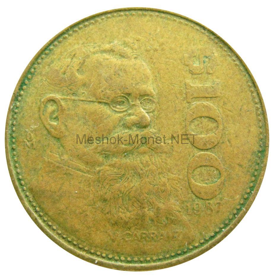 Мексика 100 песо 1987 г.