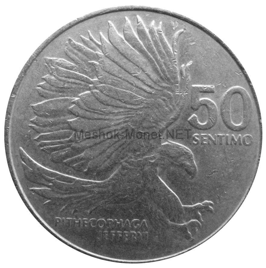 Филиппины 50 сентимо 1987 г.
