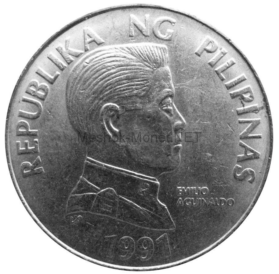 Филиппины 5 песо 1991 г.