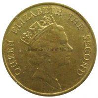 Гонконг 10 центов 1988 г.